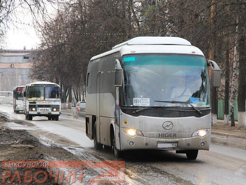 Автобусы нижний новгород большое мурашкино