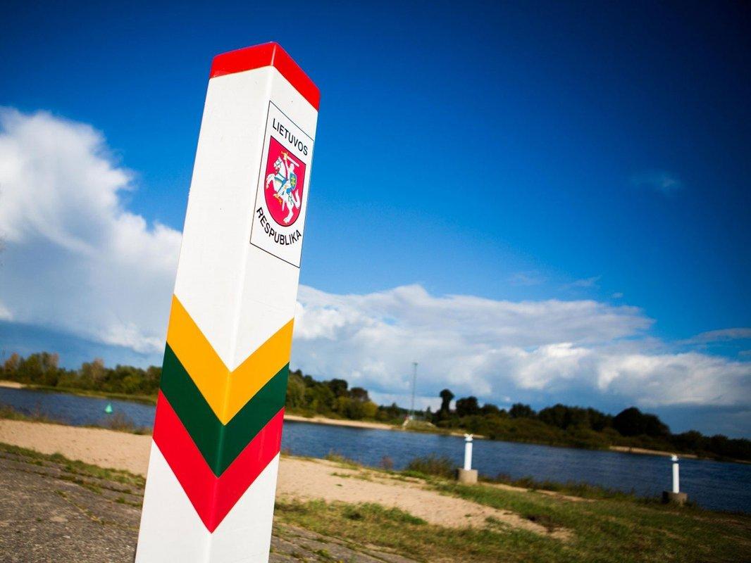 1-ый столб вкопан: награнице Литвы сРоссией начали строить забор