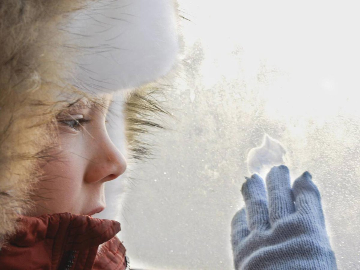 Картинки про мороз, своими руками