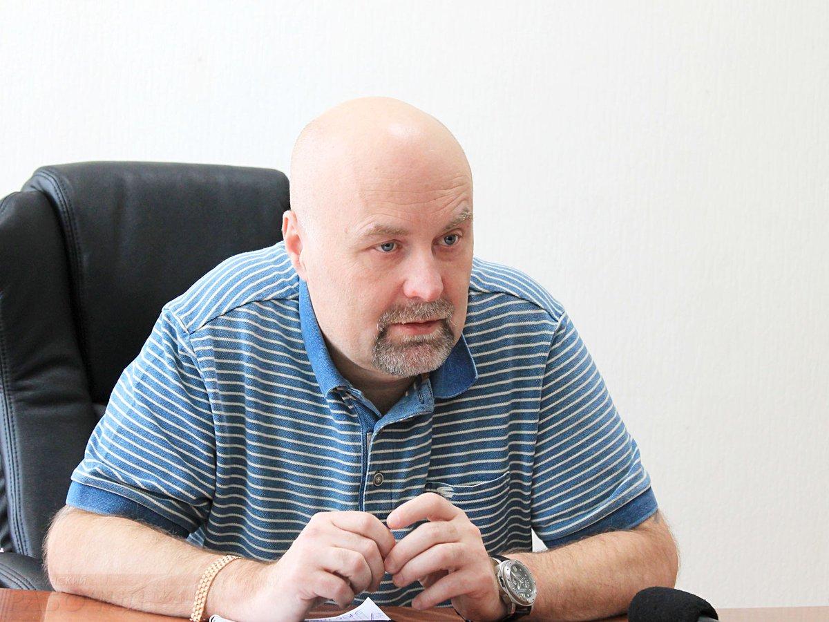 Генеральный директор завода «Дробмаш» Михаэл Мюллер встретился с представителями СМИ (Выкса, 2018 г.)