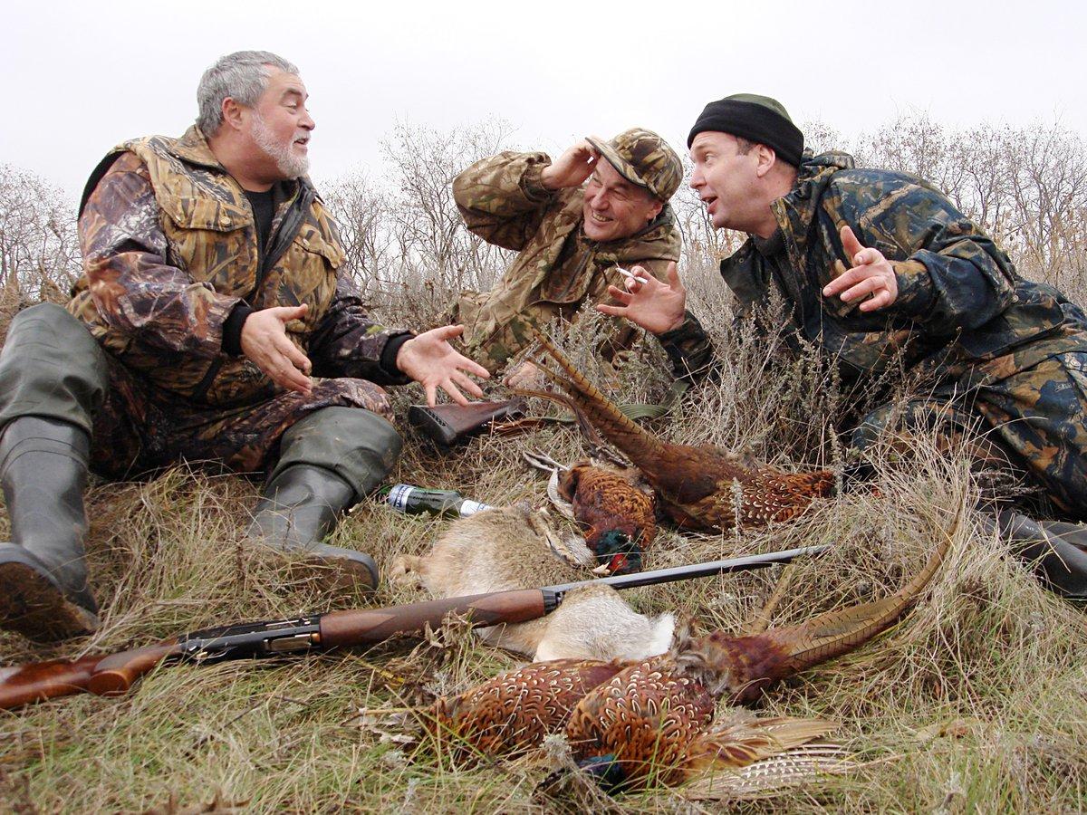 Днем рождения, картинки для фотошопа охотники прикольные