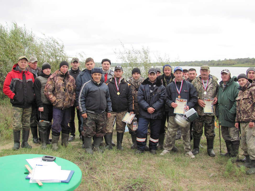 Выкса рыболовные соревнования