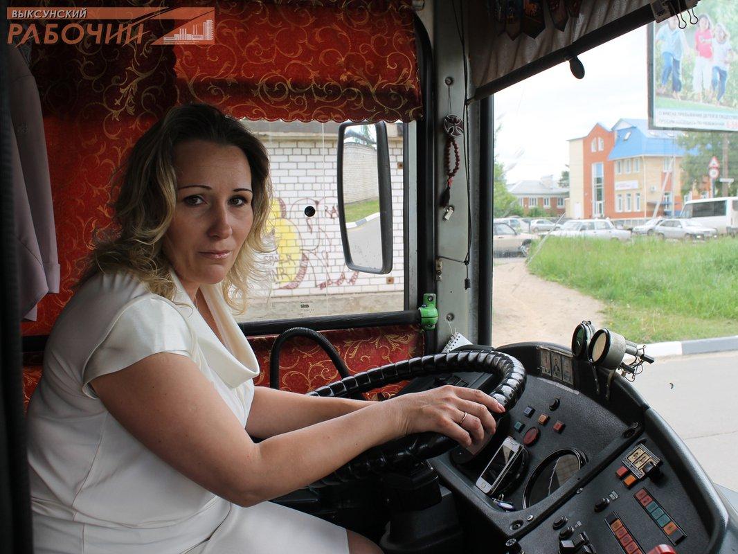 Автобус девушка за рулем